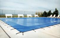 Winterized Swimming Pool