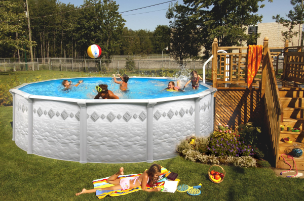 Steel Wall Above Ground Pools Vs Soft Sided Big Box Store