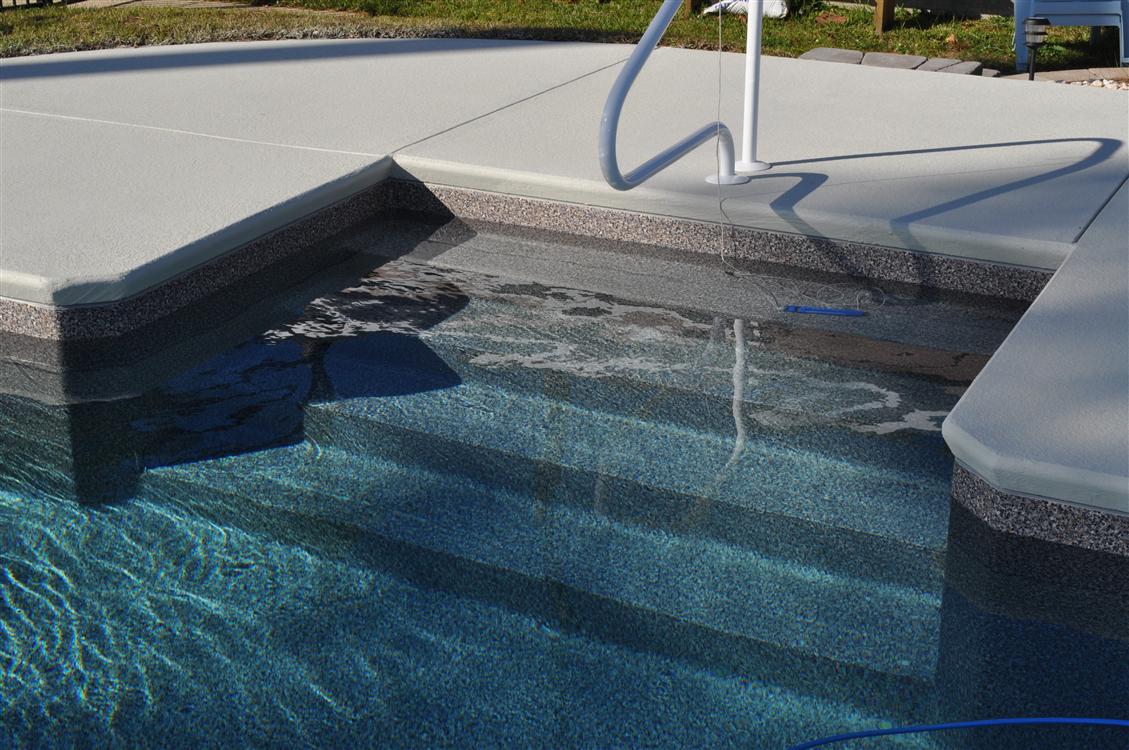 In-pool Steps 4' 6