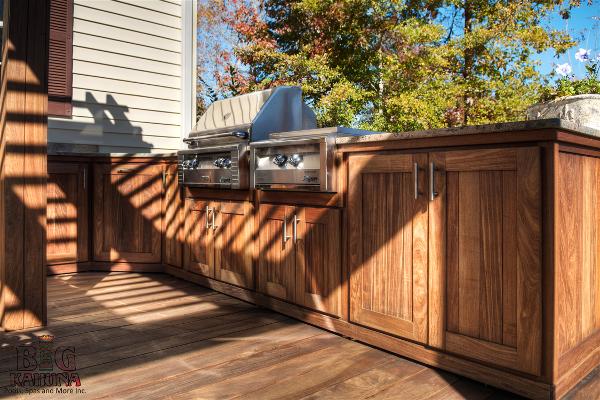 IPE Kitchen- Backyard Makeover- New Bern