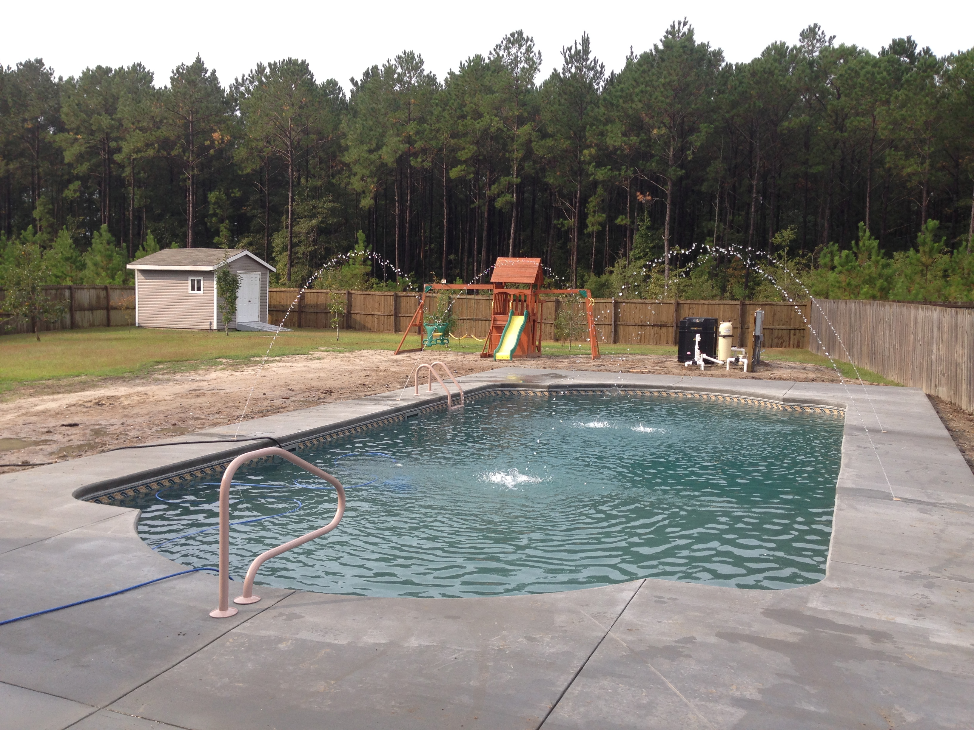Vinyl liner pools of eastern north carolina for Vinyl swimming pool